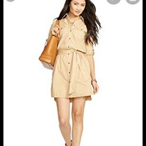 Lauren Ralph Lauren Denim Belted Shirtdress
